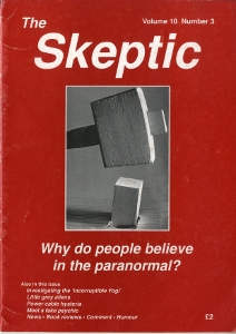 The Skeptic Volume 10, No. 3-0
