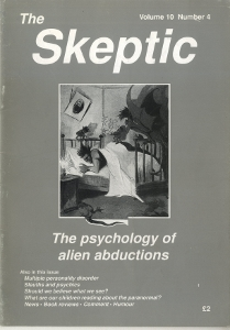 The Skeptic Volume 10, No. 4-0