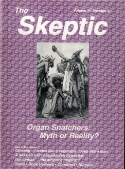 The Skeptic Volume 11, No. 2-0
