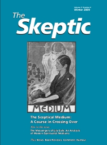 The Skeptic Volume 21, No. 4 -0