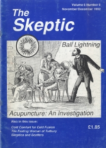 The Skeptic Volume 6, No. 6-0