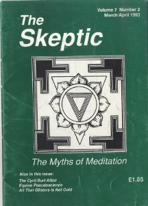 The Skeptic Volume 7, No. 2-0