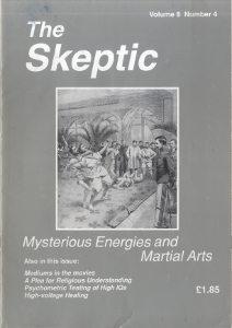 The Skeptic Volume 8, No. 4-0