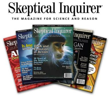 Skeptical Inquirer covers