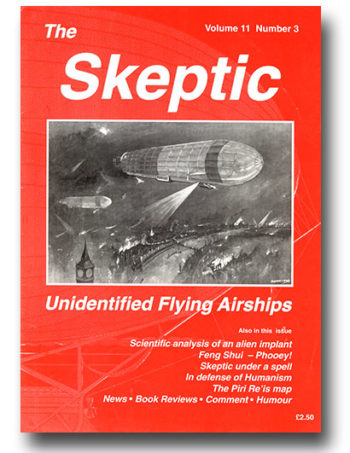 The Skeptic Volume 11, No. 3