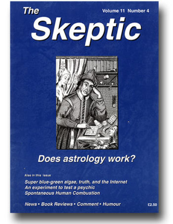 The Skeptic Volume 11, No. 4