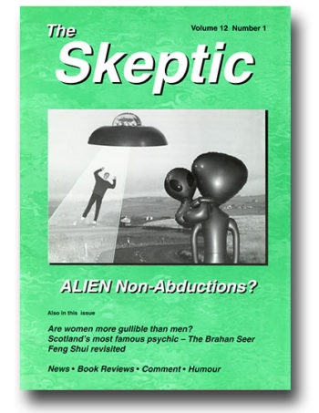 The Skeptic Volume 12, No. 1