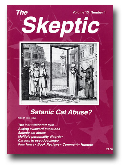 The Skeptic Volume 13, No. 1