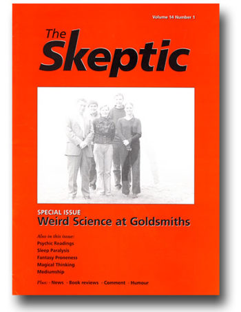 The Skeptic Volume 14, No. 1