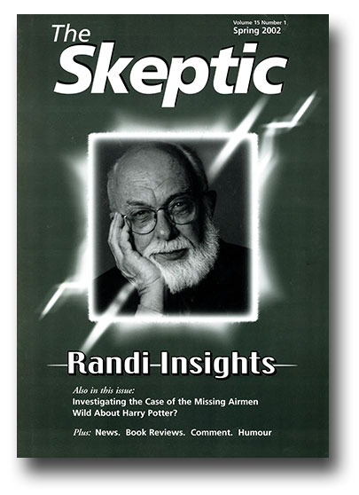 The Skeptic Volume 15, No. 1