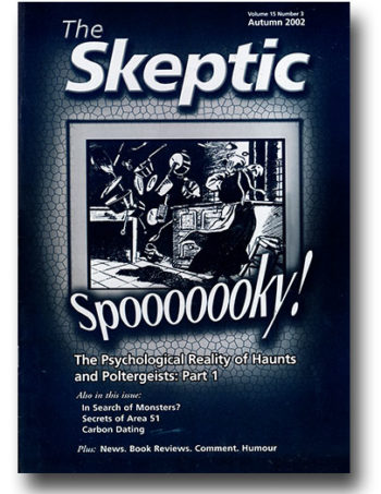 The Skeptic Volume 15, No. 3