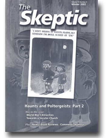 The Skeptic Volume 15, No. 4