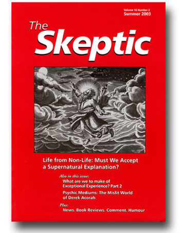 The Skeptic Volume 16, No. 2