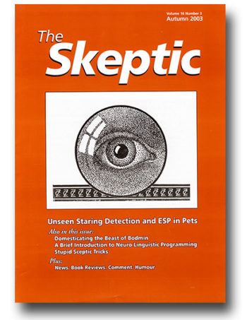 The Skeptic Volume 16, No. 3
