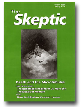 The Skeptic Volume 17, No. 1