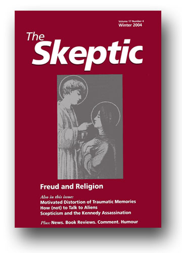 The Skeptic Volume 17, No. 4