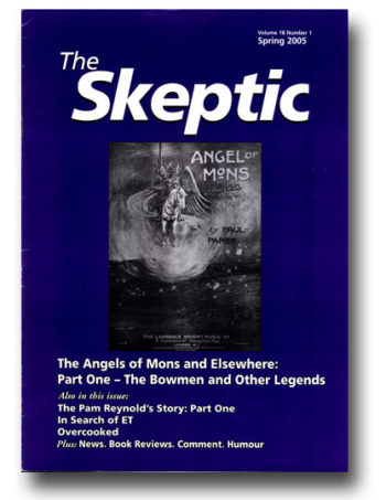 The Skeptic Volume 18, No. 1