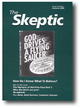 The Skeptic Volume 18, No. 3