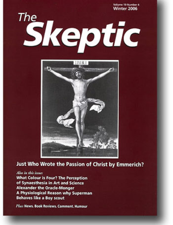 The Skeptic Volume 19, No. 4