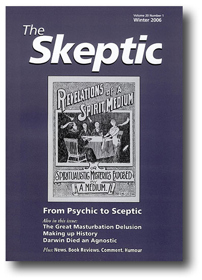The Skeptic Volume 20, No. 1