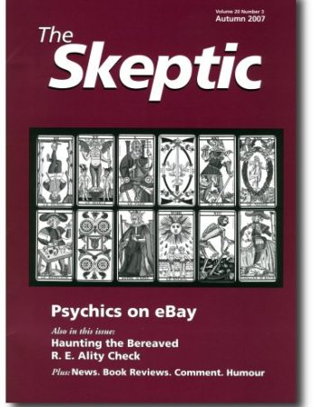 The Skeptic Volume 20, No. 3