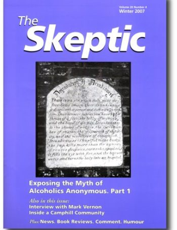 The Skeptic Volume 20, No. 4