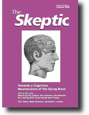 The Skeptic Volume 21, No. 2