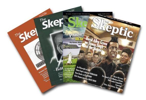 Four magazines graphic