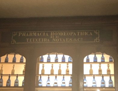 Brazil's first homeopathy pharmacy has been full replicated in Brazil's national museum