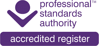 The Professional Standards Authority - Accredited Register logo