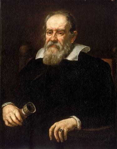 Painting of Galileo Galilei by Justus Sustermans 1636.