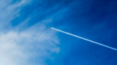 Another image of contrails