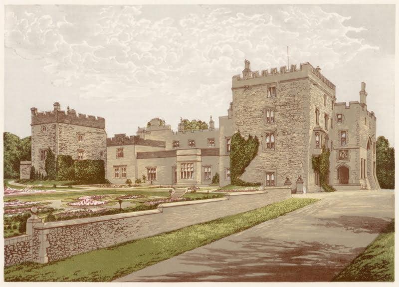 Hilary Evans Para Pic Library Muncaster Castle