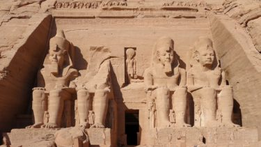 An ancient Egyptian temple