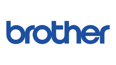 """The Brother logo - white background, blue text reading """"brother"""""""