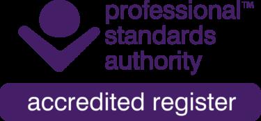 PSA Accredited Register logo